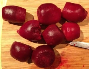 Cooking Beetroot