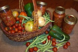how to can vegetables in mason jars