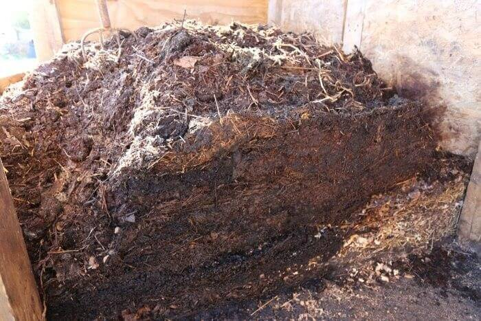 A Large Pile Of Compost