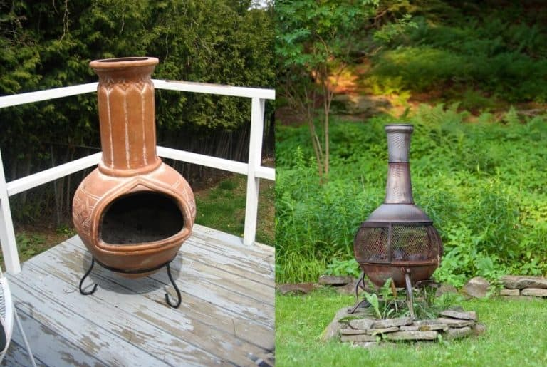 Best Chiminea Clay Or Cast Iron 1